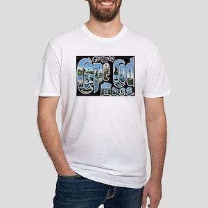 Cape Cod Massachusetts MA Fitted T-Shirt