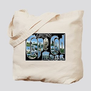 Cape Cod Massachusetts MA Tote Bag