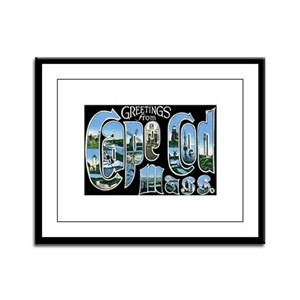 Cape Cod Massachusetts MA Framed Panel Print