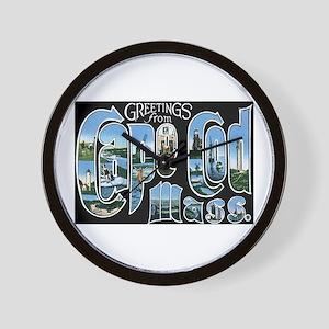 Cape Cod Massachusetts MA Wall Clock