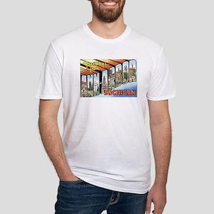Ann Arbor Michigan MI Fitted T-Shirt