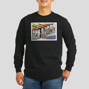 Ann Arbor Michigan MI Long Sleeve Dark T-Shirt