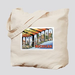 Ann Arbor Michigan MI Tote Bag