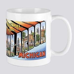 Ann Arbor Michigan MI Mug