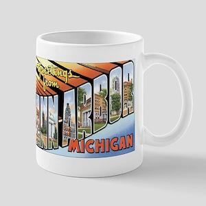 Ann Arbor Michigan MI Mug