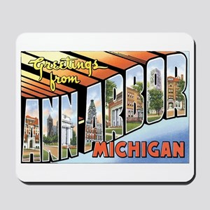 Ann Arbor Michigan MI Mousepad