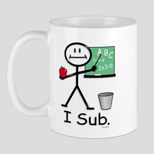 BusyBodies Substitute Teacher Mug