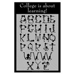 College is about learning! (Sex Positions) Poster