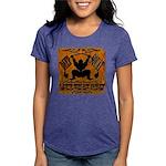 Bodybuilding Squats Ass Womens Tri-blend T-Shirt