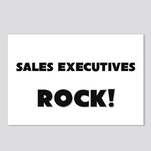 Sales Executives ROCK Postcards (Package of 8)