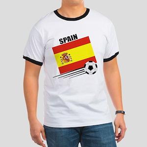 Spain Soccer Team Ringer T