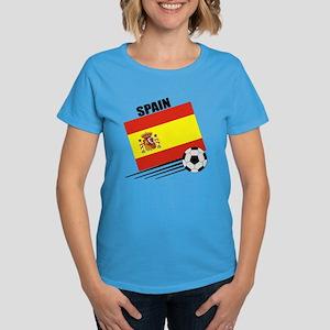 Spain Soccer Team Women's Dark T-Shirt