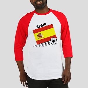 Spain Soccer Team Baseball Jersey
