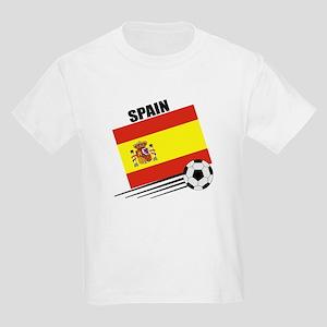 Spain Soccer Team Kids Light T-Shirt