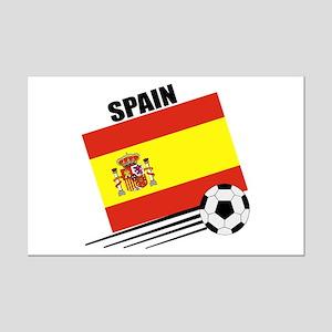 Spain Soccer Team Mini Poster Print