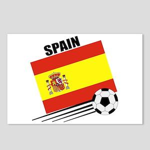Spain Soccer Team Postcards (Package of 8)