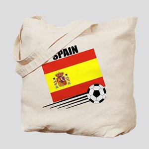 Spain Soccer Team Tote Bag
