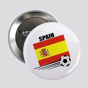 "Spain Soccer Team 2.25"" Button (10 pack)"