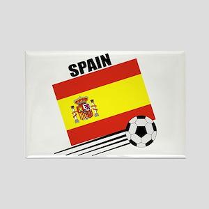 Spain Soccer Team Rectangle Magnet