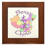 Benxi China Framed Tile