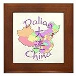 Dalian China Framed Tile