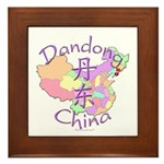Dandong China Framed Tile