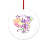 Fushun China Ornament (Round)