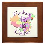 Fushun China Framed Tile