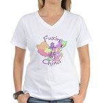 Fuxin China Women's V-Neck T-Shirt
