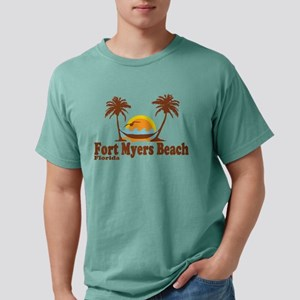 Fort Myers Beach Mens Comfort Color T Shirts Cafepress