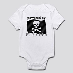 Powered By Pirates Infant Bodysuit