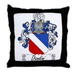 Dandini Family Crest Throw Pillow
