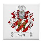 Danza Family Crest Tile Coaster