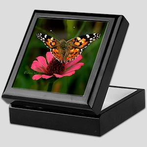 3988 American Painted Lady Keepsake Box