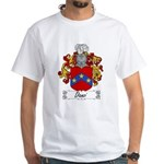 Danzi Family Crest White T-Shirt