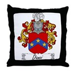 Danzi Family Crest Throw Pillow