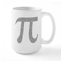 Pi Large Mug