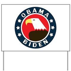Obama-Biden Eagle Yard Sign