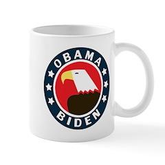 Obama-Biden Eagle Mug