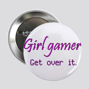 "Girl Gamer 2.25"" Button"