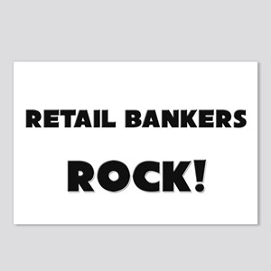 Retail Bankers ROCK Postcards (Package of 8)