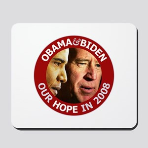 Obama-Biden Our Hope Faces Mousepad