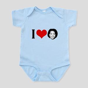 I Heart Michelle Obama Infant Bodysuit