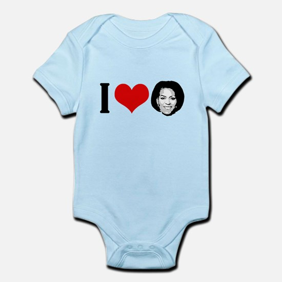 I Heart Michelle Obama Infant Bodysuit