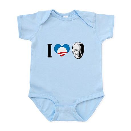 I Love Joe Biden Infant Bodysuit