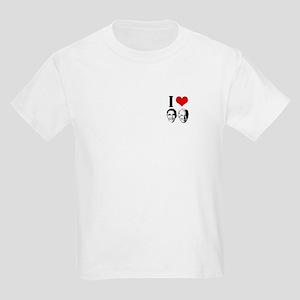 I Heart Obama Biden Kids Light T-Shirt
