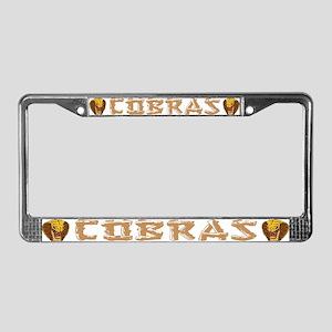 cobra nest II License Plate Frame