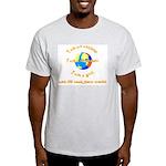 I'll rock your world Ash Grey T-Shirt
