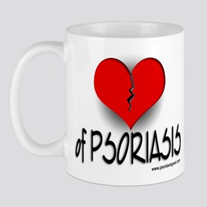 The Heartbreak of Psoriasis Mug
