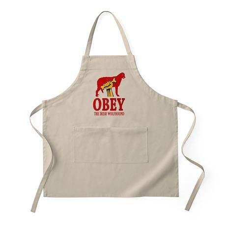 Irish Wolfhound BBQ Apron